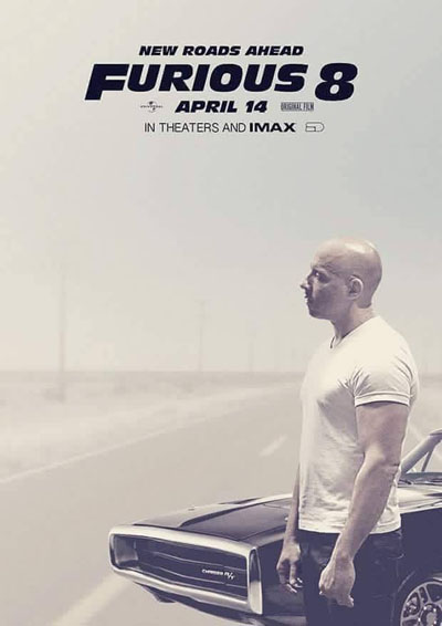 Fast and Furious 8, Hollywood movies