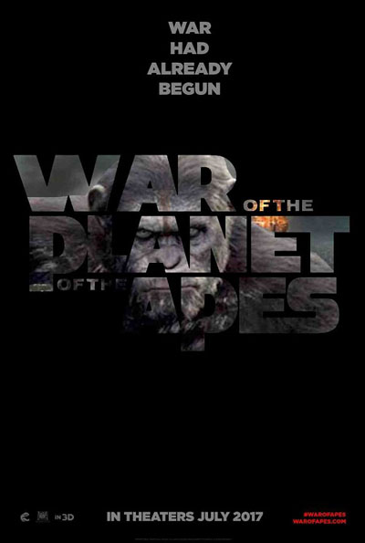 War for the Planet of Apes, Hollywood movies