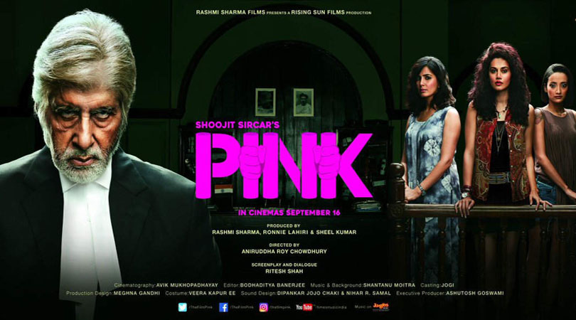 Pink, Top-rated movies of 2016